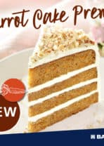 New Carrot Cake Mix