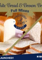 Just Launched: White and Brown Bread Full Mix