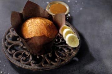 Bakels Salted Caramel Banana Flavoured Muffin Batter