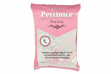 Pink Pettinice (Fondant Cake Icing)