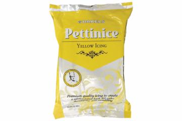 Yellow Pettinice (Fondant Cake Icing)